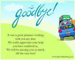 farewell messages wishes and sayings greetings com