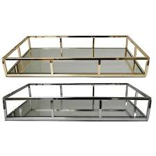 gold silver metal dressing table