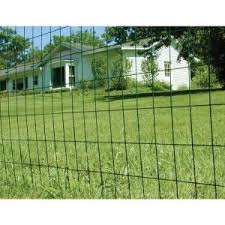 Yardgard 5 Ft X 50 Ft 14 Gauge Vinyl Galvanized Welded Wire 308354b At The Home Depot Welded Wire Fence Wire Fence Wire Fence Panels