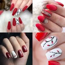 Czerwone Paznokcie 20 Propozycji Na Piekny Czerwony Manicure