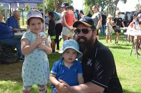 Sam, Angus and Ava Stevens at the 2018 Easter Egg ... | Buy Photos Online |  Gatton Star