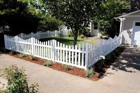 Top 60 Best Front Yard Fence Ideas Outdoor Barrier Designs Front Yard Fence Picket Fence Garden Fence Landscaping