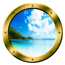 Vwaq Cruise Ship Wall Decals Boat Decor Ocean View Wall Portholes Beach Style Wall Decals By Vwaq Vinyl Wall Art Quotes And Prints