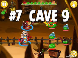 Angry Birds Epic Cave 9 Pig Lair Level 7