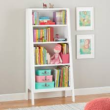 Graduated Bookshelf Nodwishlistsweeps Pink Shelves Kids Bookcase White Bookcase
