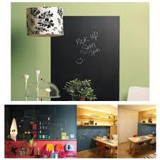 Blackboard Chalkboard Chalk Board Fridge Sticker Decal Removable Kitchen Black
