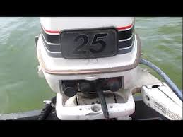explaining my 25 hp johnson outboard