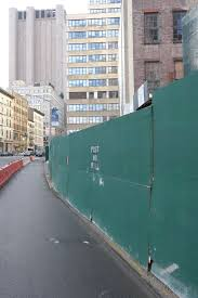Tribeca Citizen Nosy Neighbor Why Are Construction Fences Always Green
