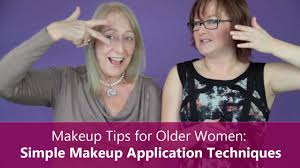 makeup tips for older women 6 simple