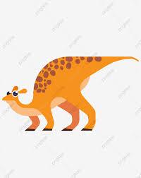 Animal Dinosaurio De Dibujos Animados Patron De Dinosaurio
