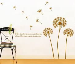 Love Flying Dandelion Wall Stickers Inspirational Quotes Love Nursery Wall Decals Removable Art Vinyl Decal Room Home Decor Inspiration Home Decor Olivia Decor Decor For Your Home And Office