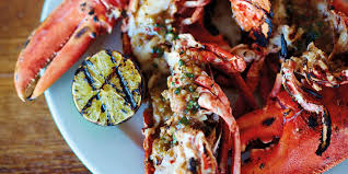 Barbecued jerk lobster with coconut ...