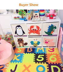 Perfect For Playroom Living Room Maxyoyo 13 Inch Storage Bins Kids Toy Storage Organizer Foldable Cube Box Blankets Clothes Storage Cubes Organizer For Kids Children Toys Trueyogaevergreen Com