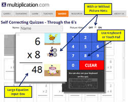 self corrected quizzes with quiz navigator