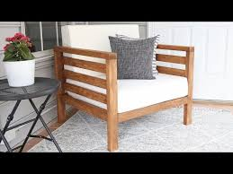 diy outdoor chair how to build an