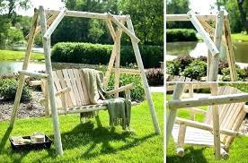 front porch swing bed diy patio swing