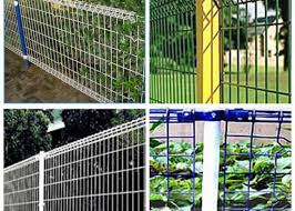 Ornamental Double Loop Steel Wire Fencing Decorative Wire Mesh Security Fencing