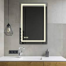 24x36 inch super slim bathroom mirror