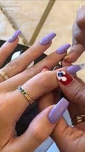 pink acrylic kylie jenner nails nail