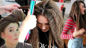 i style 80s crimped hair fionafrills