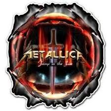 Metallica Skull Heavy Metal Band Car Bumper Sticker Decal Metallica Heavy Metal Bands Metallica Art