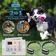 Wiez Dog Fence Wireless And Training Collar My Dog