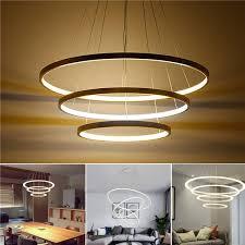 led ceiling pendant dimming ring light