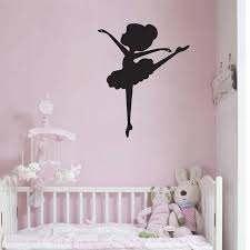 Ballerina Wall Decal Ballet Concert Theater Wall Art Decals Gymnastics Girl Bedroom Dance Room Vinyl Wall Sticker Decor S327 Wall Stickers Aliexpress