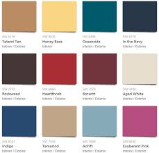 these are the 2018 wall paint colors