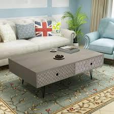 vidaxl coffee table 100x60x35cm grey