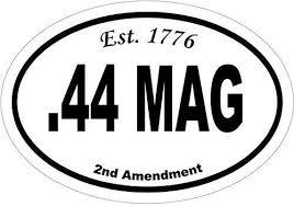 Amazon Com Ion Graphics 44 Mag Est 1776 2nd Amendment Vinyl Window Decal Gun Bumper Sticker 2nd Amendment Decal Pistol Vinyl Sticker Made In The Usa Size 4 7 X 3 3 Inch Automotive