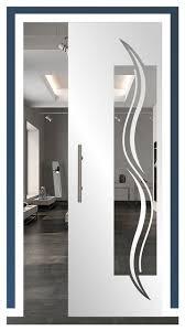 frameless pocket glass sliding door and