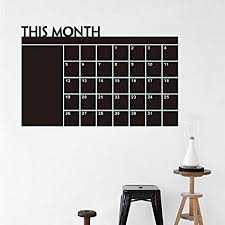 Amazon Com Home Organizer Tech Chalkboard Wall Calendar Weekly And Monthly Organizer To Do List Planner 24 X 39 Home Kitchen