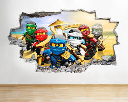 Lego City Wall Stickers Coolest Ninjago Wall Decals Lego City Independence