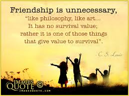 friendship is unnecessary friendship quote images quote