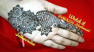 bridal groom mehndi design