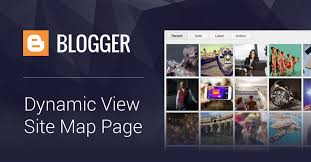 Create a Blogspot / Blogger Site Map Page Using Dynamic View