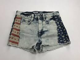 womens juniors cutoff jean shorts
