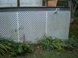 Clean Lattice And Fencing Customer Project