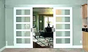 contemporary barn doors interior