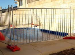 Temporary Mesh Pool Fencing With Galvanized Or Pvc Coated Steel Wire