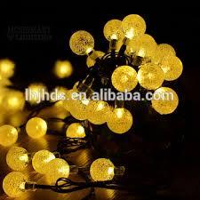 string solar powered fairy light