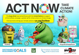 The United Nations and Talent from 'The Angry Birds Movie 2' join ...