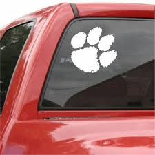 Clemson Tigers Vinyl Car Van Truck Decal Window Sticker Monkey Feet Graphics