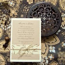 Oriental Rustic Wedding Invitation Rytietiski Rustikaliniai