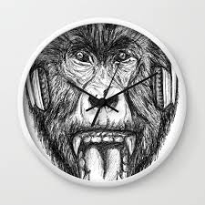 Scream And Shout Wall Clock by ...