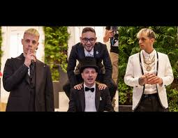Achille Lauro, that day in Naples with Rocco Hunt, Clementino and ...