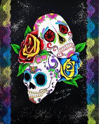 dead sugar skull wallpaper