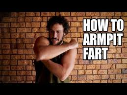 HOW TO ARMPIT FART - YouTube
