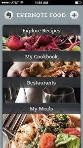 app of the week evernote food helps